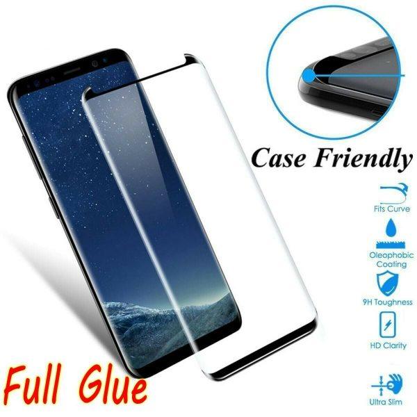 "Full Glue Tempered Glass ""Case Friendly"""