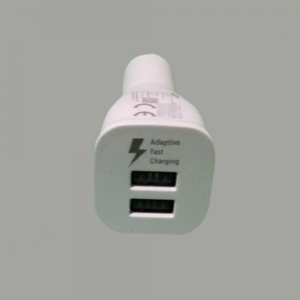 2USB Fast Charging Car Charger W/Type-C Cable