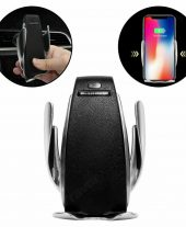 Wireless Car Charger Air Vent Mount Phone Holder For iPhone & Android